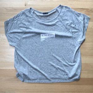 ZaraT-shirt and gray